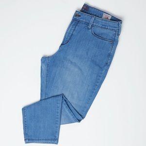 NYDJ Jeans - NYDJ Petite Blue Lift Tuck Technology Ankle Jeans